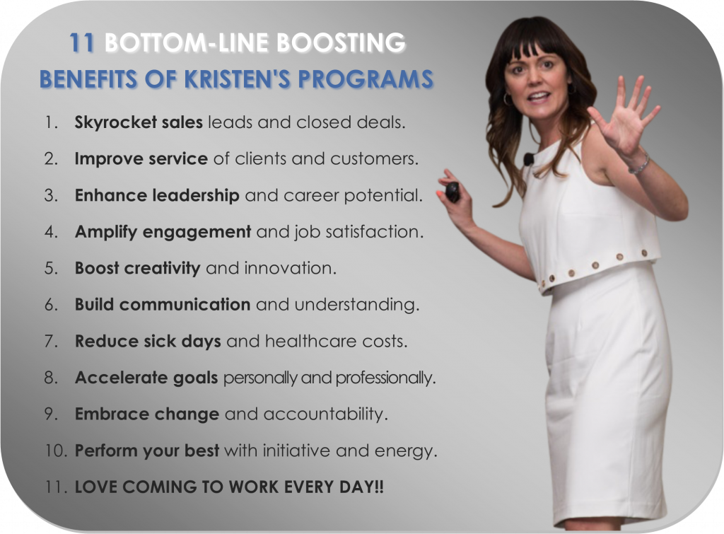 Kristen Brown Keynote Speaker Benefits