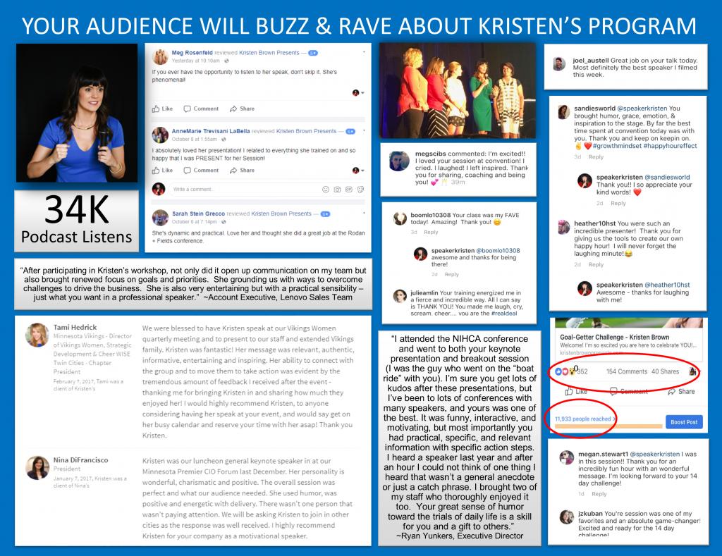 Testimonials - Kristen Brown